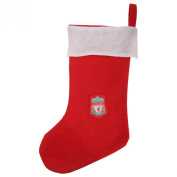Liverpool FC Official Football Crest Christmas Stocking (One Size)