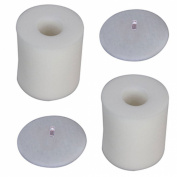 2 sets for Shark Rotator Pro Lift-Away NV500 Foam Filter Kit, Fits Shark model