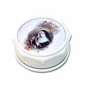 Saint Rita Patron of Abused Women Rose Scented Rosary with Free HC Blessed By His Holiness Francis