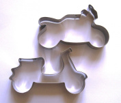 LAWMAN Vehicle motorcycle scooter motorbike fandont pastry baking cookie cutter set