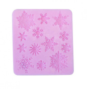 bouti1583 Snowflake Biscuit Mould Cake Bakeware