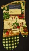 The Pecan Man ,Kitchen Chef Veggie Oven Mits 1pcs