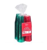 Berkley Jensen 470ml Festive Plastic Cold Cups, 120 Count