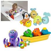 KidCo Bath Toy Basket Organiser with Bath Toys