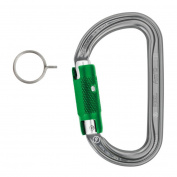 Petzl AM'D PIN-LOCK carabiner requires key/pin to open