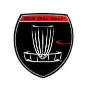 DGA Shield Logo Disc Golf Sticker