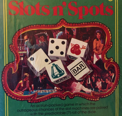 1976 Slots N' Spots Dice Game #D400 by Classic Games Co.