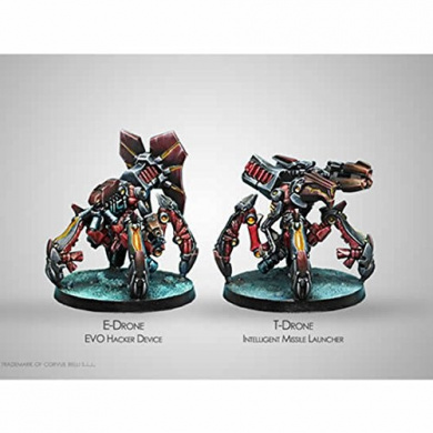 Drone Remotes Combined Army Miniatures Infinity Corvus Belli