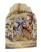Santoro 3D Swing Greeting Card, Horses In The Fields
