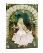 Santoro 3D Swing Greeting Card, Princess on A Swing