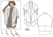 Style Arc Sewing Pattern - Violet Knit Jacket (Sizes 04-16) - Click for Other Sizes Available