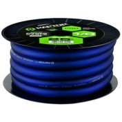 Raptor R51-0-25BL 7.6m Pro Series Oxygen Free Copper Power Cable, Blue