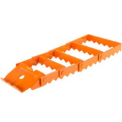 Orange Heavy Duty Vehicle Recovery Traction Grip Track