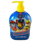 "Nick Jr. Paw Patrol ""Just Yelp for Help"" Barking Berry 240ml Moisturising Hand Soap! Featuring Chase, Rubble, & Marshall!"