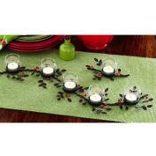 TAG Jardin Christmas Mistletoe Multi-Votive Holder