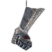 Kurt Adler 50cm KISS Dragon Boot Printed Applique Stocking