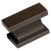 Southern Hills Oil Rubbed Bronze Rectangular Cabinet Knobs