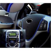 Denshine® Edge Gap Blue Line Interior Point Moulding Accessory Garnish 5m for Cars
