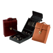 Royce Leather Ultra Bonded Leather Women's Pocketbook Jewellery Case