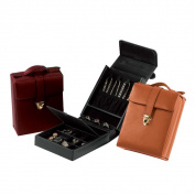 Royce Leather Luxury Suede-lined Jewellery Case