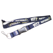 Pittsburgh Pitt Panthers Clip Lanyard Keychain Id Holder NCAA