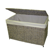 Woven Maize Grey Storage Chest