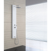 OVE Decors OSC-24 3-Jet Shower Tower System in White