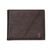 Men's Personalised Brown Bi-Fold Wallet with Multi-function Tool