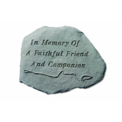 Kay Berry 'In Memory Of' Garden Accent Stone