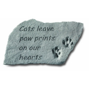 Kay Berry 'Cats Leave' Garden Accent Stone