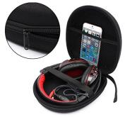 Ginsco Headphone Carrying Case Storage Bag Pouch for Sony MDR-XB950B1 XB650BT Sennheiser HD202 Bose AE2w Grado SR80