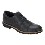 Men's Rockport Channer Oxford Black Leather