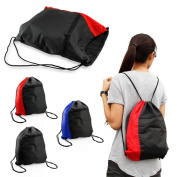 Gearonic Drawstring Backpack Cinch Sack School Tote Gym Bag Sport Pack