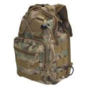 Tactical Camo Ambidextrous Sling Backpack