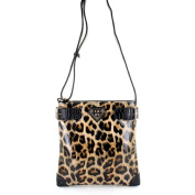 LANY 'Cheetah' Print 28cm Cross- Body Messenger Bag
