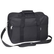 Everest 41cm Black Carry-on Soft Briefcase with Shoulder Strap