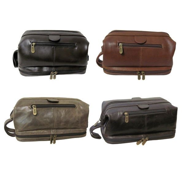 a52567a1d5 Amerileather Men s Leather Toiletry Bag by Amerileather - Shop ...