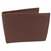 Amerileather Men's Leather Bi-fold Wallet