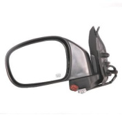 Original Style Replacement Mirror fits Nissan Driver Side Power Remote Foldaway Heated Black