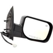 955-1093 fits Nissan Titan Passenger Side Heated Power Replacement Mirror with Memory