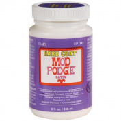 Plaid Mod Podge Satin Hard Coat Water-based Non-toxic 240ml Adhesive