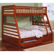 Ogletown Twin Over Full Bunk Bed