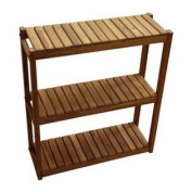 3-Tiered Teak Shelf
