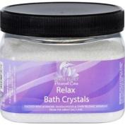 White Egret Bath Crystals - Relax - 470ml