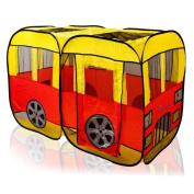 The Dimple DC11614 Children's City Bus Pop Up Tent