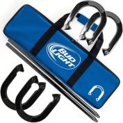 Bud Light Metal Horseshoe Set with Carrying Case