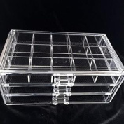 Beauty Acrylic Makeup Organiser Luxury Cosmetics Acrylic Clear Case Storage Insert Holder Box
