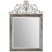 Uttermost 12865 Kissara Metal Mirror