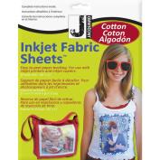 Inkjet Fabric Sheets-20cm - 1.3cm x 28cm 10/Pkg