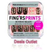 Fing'rs Prints Runway Ready Press-On Nails Show Stopper 26 count